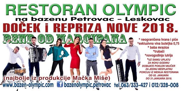 Bazen Olympic docek2018